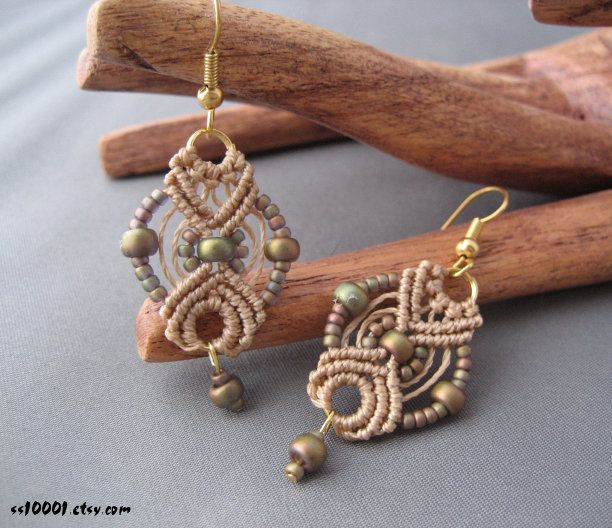 Free Hemp Jewelry Making Instructions | Macrame Jewelry Patterns - My Patterns