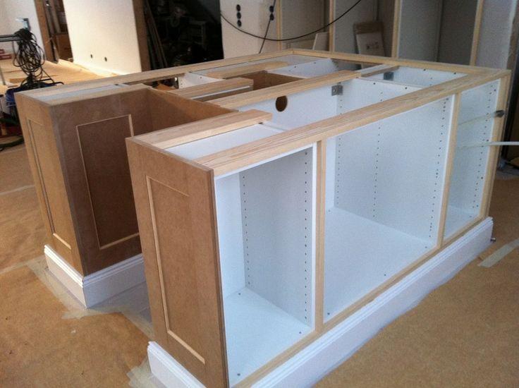 köksö platsbyggd med Ikea stommar