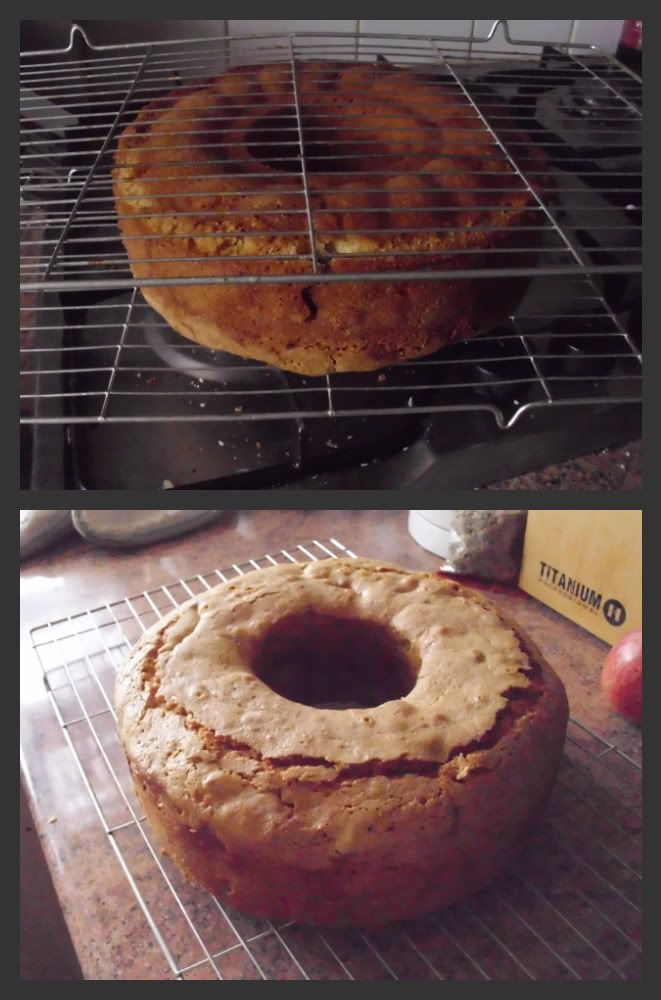 Apple Cake ??  I made this cake for Thanksgiving  2013 let it sit for a day before we cut it..IT IS DELICIOUS
