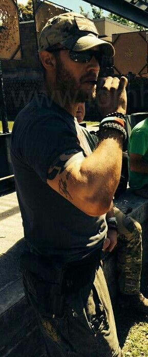 Tom Hardy....Omg... He's so rugged and tough and oozes sexiness and masculinity without trying at all....