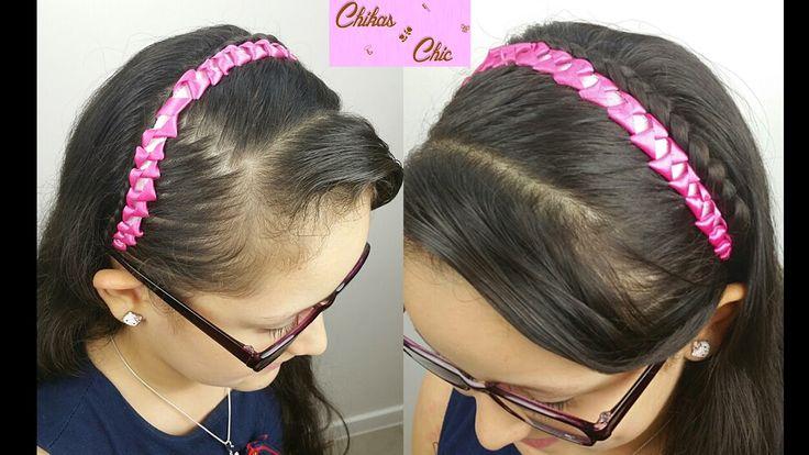 Diadema de lazos con cintas bows headband with ribbons - Lazos con cintas ...