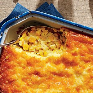 Tee's Corn Pudding - This classic recipe has a rich, soufflé-like texture without the hassle. The result is an impressive holiday side dish the entire family will love.