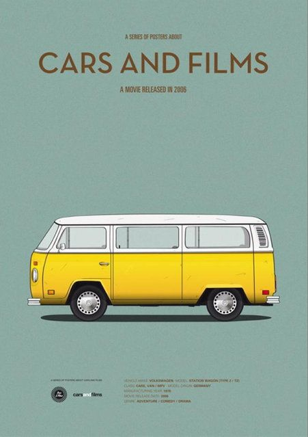 Little Miss Sunshine (2006) 1978 Volkswagen Bus