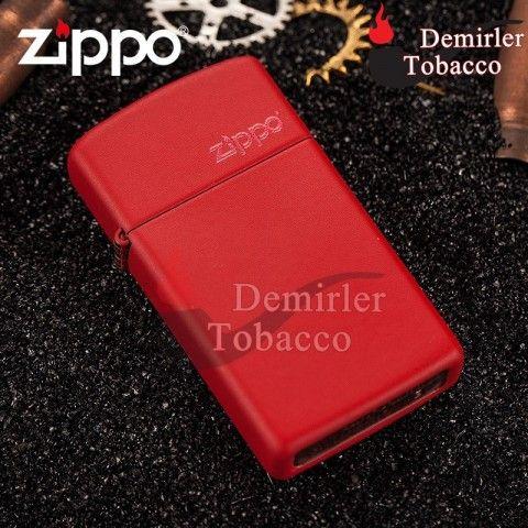 Zippo Slim Red Matte Kırmızı Mat Çakmak Çakmak en iyi fiyatla DemirlerTobacco'da! Şimdi DemirlerTobacco'dan taksit seçenekleriyle ve indirimli fiyatla sipariş verin, ayağınıza gelsin!