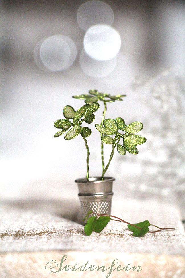 Ein Fingerhut des Glücks * Heimwerken * Ein Fingerhut des Glücks (Seidenfeines Deko-Holz) – Bastelideen