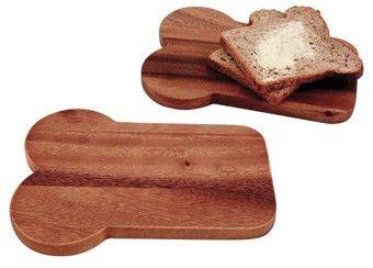 heerlijke set van 2 houten broodsnijplanken