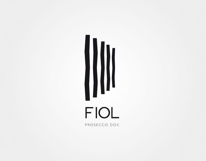"#houseofbranding | Fiol Prosecco Doc Logo. Designed for the ""elegant fashionistas"" of the world."