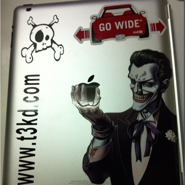 My Pimped iPad 3. Everything I own is customized for me.