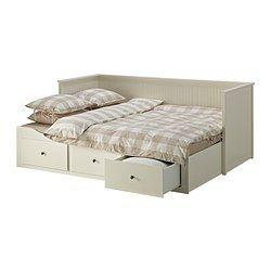 HEMNES Struttura letto divano/3 cassetti, bianco - bianco - IKEA