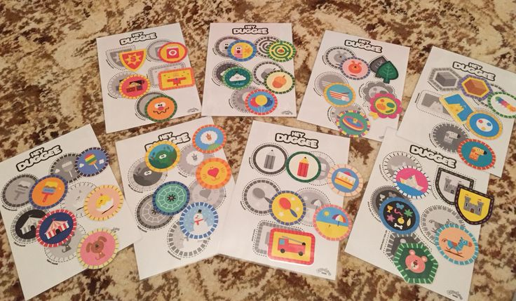 Hey Duggee Matching Badges Game