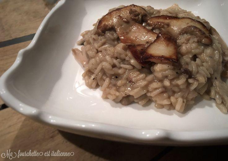 Bon bon bon le risotto!!! Crémeux et savoureux, il est parfait pour les soirées d'hiver! Le risotto aux funghi est une recette traditionnelle italienne. Pour moi c'est aussi un sujet po…
