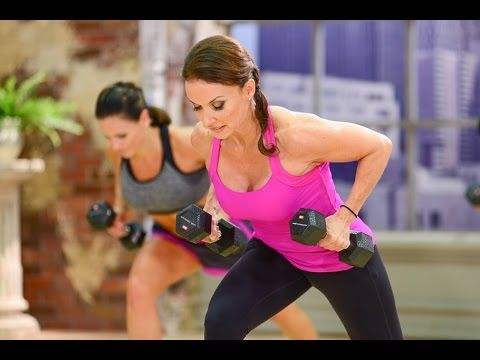 Cathe Friedrich's ICE Metabolic Total Body Workout Video - YouTube