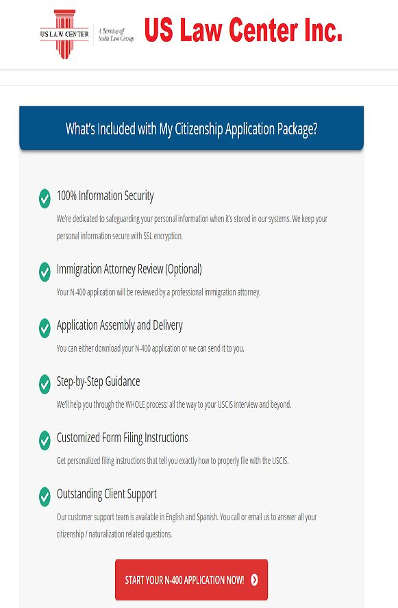 Us Citizenship Application Packages What Are The Packaged
