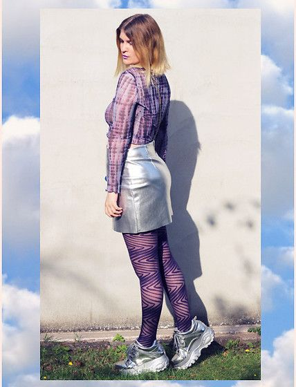 Get this look: http://lb.nu/look/8866929  More looks by Alison Videoland: http://lb.nu/kuchenkind  Items in this look:  Urban Outfitters Top, Buffalo Silber Boots   #edgy #punk #street #2000 #buffalo #fashionblogger #germany #hamburg #urbanoutfitters