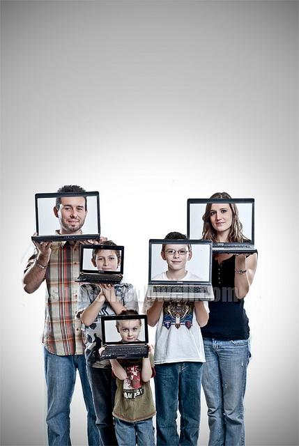 Cute family portrait!