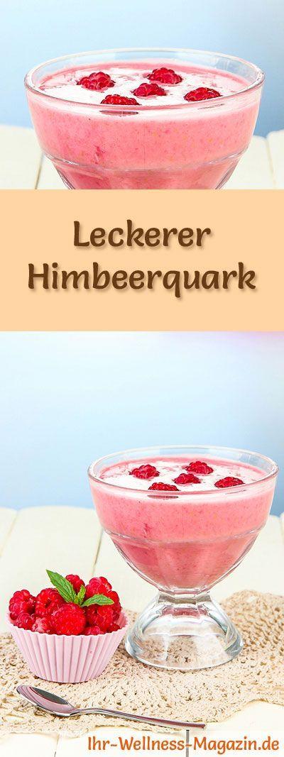 Rezept für einen köstlichen Himbeerquark mit viel Eiweiß - und weitere leckere Magerquark-Rezepte zum Abnehmen ...