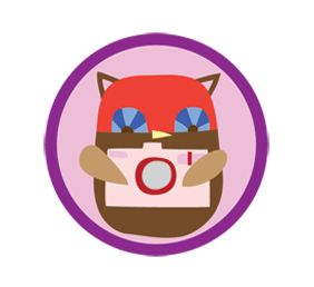 Junior Girl Scout Badge - Digital Photographer. JUNIOR DIGITAL PHOTOGRAPHER BADGE. It seems like almost every gadget can take a digital photograph, from phones to laptops to, of course, digital cameras. But do you know how to get the most out of your digital device, and what it takes to capture a winning photo? You will if you earn this badge!