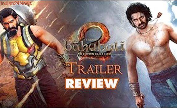 Baahubali 2 Trailer Review: Prabhas-Rana face off, Baahubali's romance will Stun You |Bollywood News
