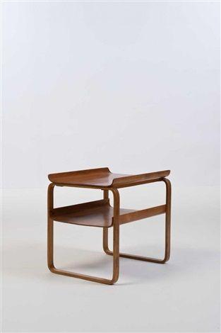 Paimio, Table modèle 75 by Alvar Aalto