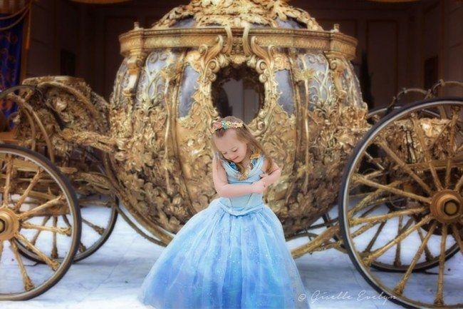 Gisèle Evelyn fillette atteinte de trisomie 21, une petite fille comme les autres...;-)