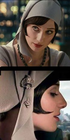 Jordan Baker from 'The Great Gatsby' played by Elizabeth Debicki. Costume Designer: Catherine Martin.