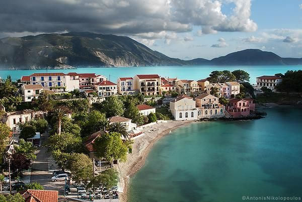 Assos, Kefalonia, Greece.