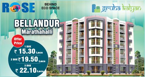 Gruha Kalyan ROSE At Bellandur/Marathahalli, Available 1, 2 & 3BHK Flats/Apartments At Rock Bottom Price in Bengaluru.