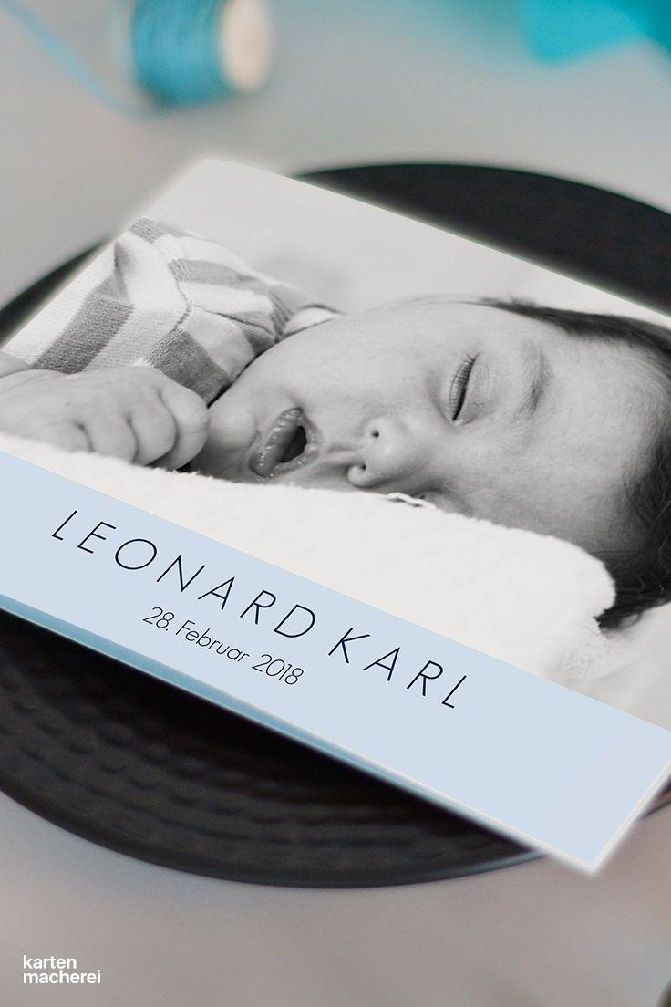 Für alle die ihr babyglück teilen wollen design pures glück babykarte
