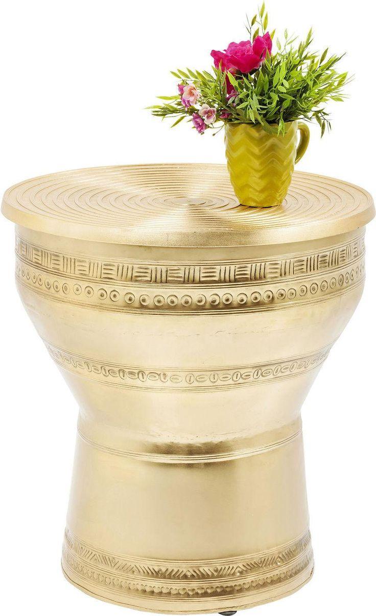 Salontafel Cleopatra - Goud - 53x50x36 - Kare Design    Chique design