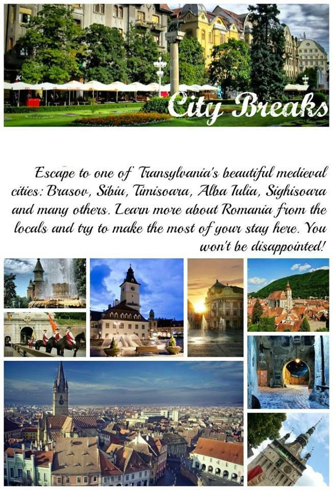 Sibiu, Sighisoara, Brasov - unique cities with a rich heritage