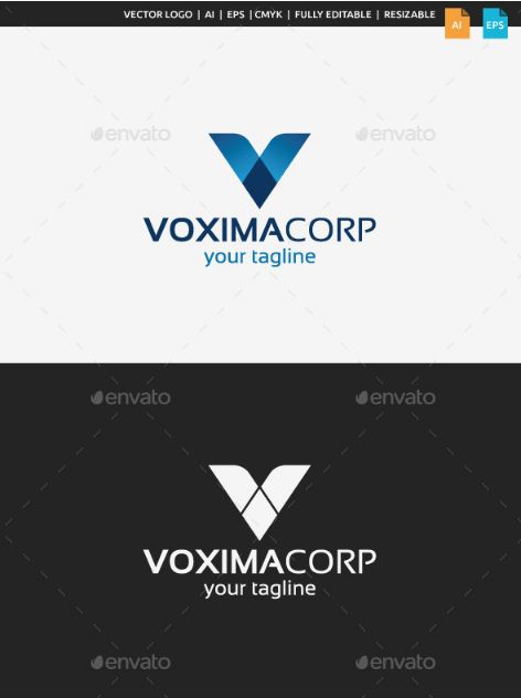 This Logo Can Be Used By Corporations, Financial Companies, Modern Brands,  Companies With