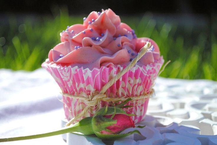 un pedacito de cielo: Cupcakes de Vainilla... y humm!