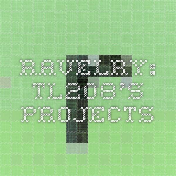Ravelry: tl208's Projects