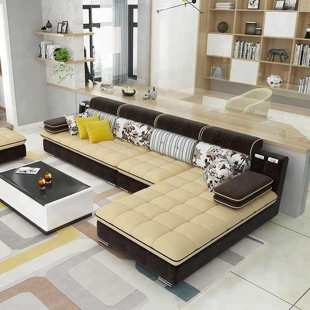 Source New Designs 2018 Top Quality Furniture Living Room Best Price Fabric New L Shaped Sofa Des Living Room Tv Unit Designs Sofa Design L Shaped Sofa Designs