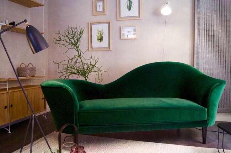 new Gubi Grand piano sofà in showroom!