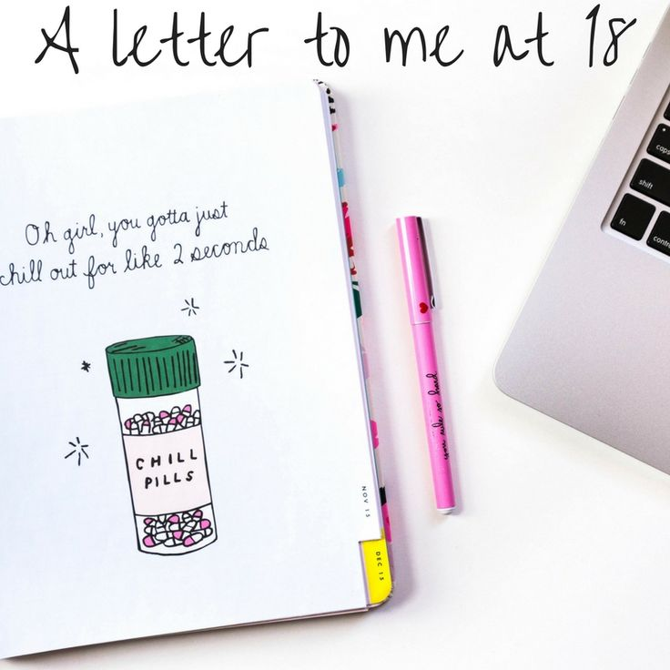 A letter to a younger me.