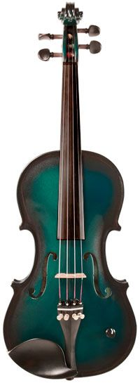 Barcus-berry electric violin green