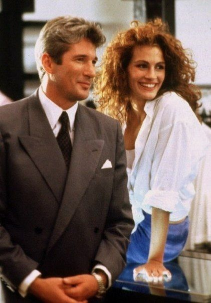 "Richard Gere & Julia Roberts / Ричард Гир & Джулия Робертс /// ""Pretty woman"" / ""Красотка"""
