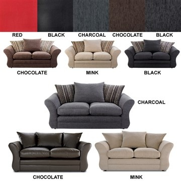 Charcoal sofas to go with my beige carpet and ruby starlet & rose white walls