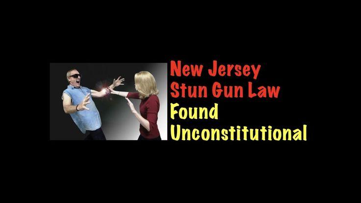 New Jersey Stun Gun Law Found Unconstitutional