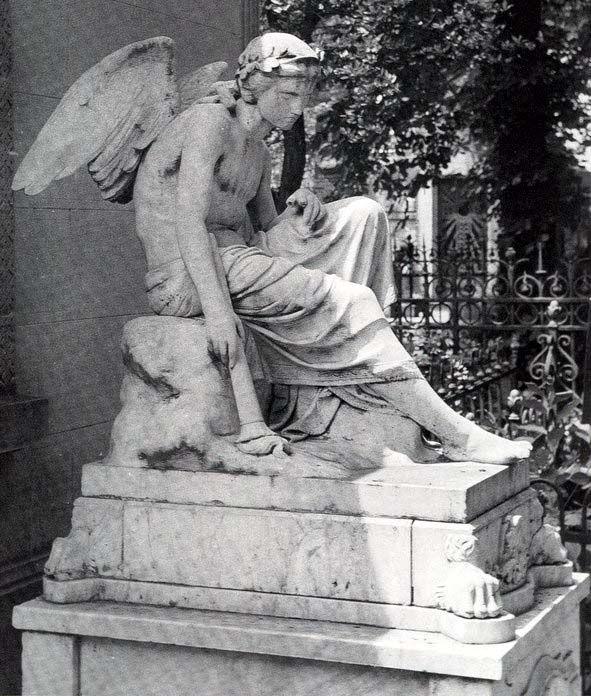 Καθιστός άγγελος (1875) Μάρμαρο
