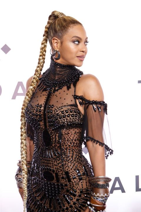 Some braids are best left to the pros and others are worth enlisting that one friend who knows how to french braid (we all only have one)–these fall under both categories. These celebrity braids, like Beyoncé's gorgeous miles long braided ponytail, are all the fall hair inspiration you need, plus there's something for every hair type.