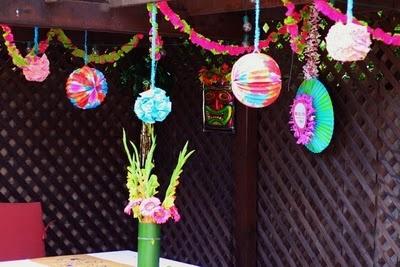 Megan's Luau Pool Party