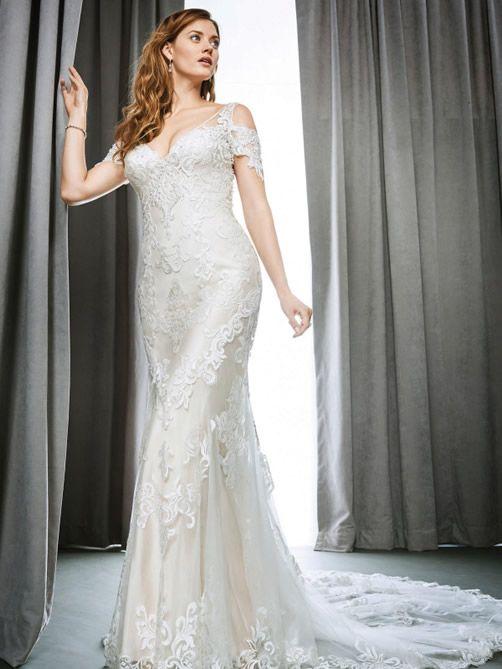 Kenneth Winston Wedding Gowns 1706 Georgina Scott Bridal
