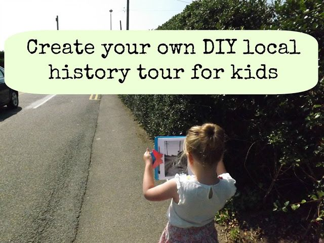 Me and my shadow: Local history tour for kids