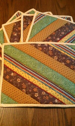 Top 25 Ideas About Quilted Placemats On Pinterest Place