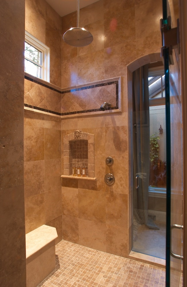 119 best Built in Showers images on Pinterest | Home ...