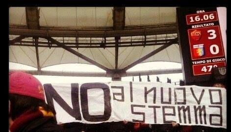 AS Roma vs Genoa (12 Gennaio 2014) Curva Nord