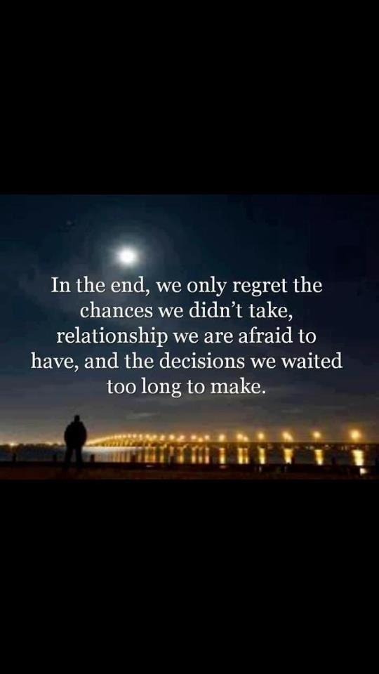 Take chances Quote