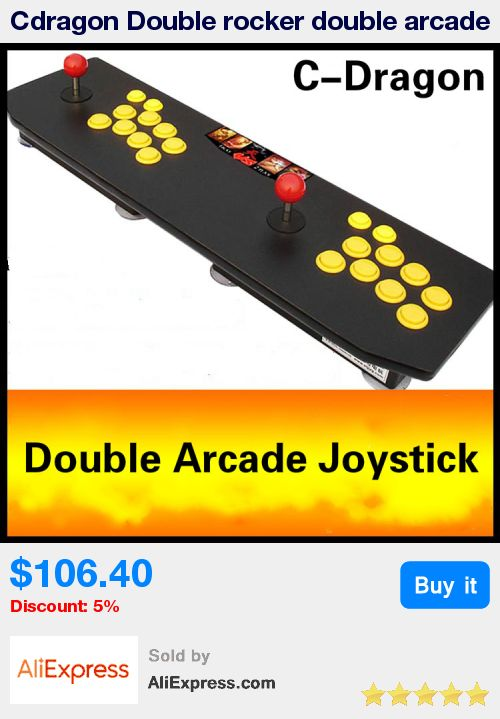 Cdragon Double rocker double arcade joystick game KOF 97 arcade fighting without delay USB computer joystick  free shipping * Pub Date: 15:31 Aug 17 2017